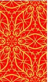 Seamless,Pattern,seamless pattern,Backgrounds,Floral Pattern,Wallpaper Pattern,repeat pattern,seamless wallpaper,Illustrations And Vector Art,Objects/Equipment,Red,Vector,Ilustration,Ornate,Gold Colored