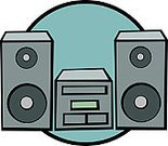 Amplifier,Listening,Speaker,MP3 Player,Music,Stereo,CD,Audio Equipment,Electrical Equipment,Vector,Arts And Entertainment,Tuner,Treble,Receiver,Electricity,Digitally Generated Image,Bass,Illustrations And Vector Art,Music,preamplifier,Technology,Sound,Electronics Industry,Ilustration