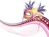 Holiday,Carnival,Costume,Mask,Traveling Carnival,Party - Social Event,Cultures,Vector,Celebration,Ilustration
