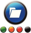 Symbol,Open,Black Color,Office Supply,Interface Icons,Clip Art,Manila Folder,Blue,Green Color,File,Ilustration,Computer Icon,Circle,Orange Color,Red,Vector