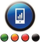 Black Color,Blue,Green Color,Orange Color,Symbol,Data,Clip Art,Telephone,Mobile Phone,Red,Circle,Vector,Smart Phone,Interface Icons,Electrical Equipment,Ilustration,Computer Icon,Bar Graph,Electronics Industry,Column Graph