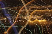 Blurred Motion,city lights,Clip Art,Fractal,Multi Colored,Abstract,Color Image,Backgrounds,Ilustration