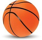 Basketball,Isolated,Sport,Ball,White,Vector,Orange Color