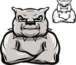Bulldog,Dog,Anger,Ilustration,Pitbull,Muscular Build,Mascot,Clenching Teeth,Fighting Stance,Stalking,Symbol,Animals And Pets,Insignia,Aggression,Strength,Vector,Guard Dog,Power,Chain,Concepts And Ideas,Illustrations And Vector Art,Sport Symbol,Canine,American Bulldog,Pet Collar,Purebred Dog,Link