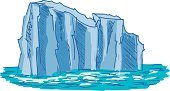 Iceberg - Ice Formation,Snow,Glacier,Vector,Ice,Landscape,Ilustration,Pole,Cartoon,Beauty In Nature,Frozen,Winter,hand drawn,Water,Melting,Travel,Sketch,Cold - Termperature,Mountain,Sea,Drawing - Art Product,Global,Nature,South,Antarctica,Arctic,White,Blue,Warming Up