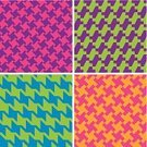 1980s Style,Pattern,Backgrounds,Smart Casual,Casual Clothing,Houndstooth,1970s Style,Seamless,Vector,Retro Revival,Checked,Colors,Computer Graphic,Plaid,Textile Industry,Purple,Green Color,Woven,Fashionable,Multi Colored,1960s Style,Style,Patchwork,Orange Color,Modern,Bright,Design,Tartan,Neon Color,Repetition,Funky,Fashion,Blue,Cool,Vibrant Color,Classic,Elegance,Magenta,Street Style