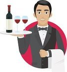 Alcohol,Alcohol,Tray,Butler,Domestic Staff,Wine,Men,Vector,Male,Drink,Restaurant,Waiter,Job - Religious Figure,Uniform,Remote,Dinner,dry wine,Happiness,One Person,Elegance,Silver - Metal,Ideas,Computer Graphic,Working,Service,Ilustration,Young Adult,Isolated,Wine Bottle,Luxury,Tuxedo,Cartoon,Suit,Glass,Formalwear,Buffet,Poster,Cheerful,Occupation,Silver Colored,Drawing - Art Product,Red Wine,Bottle,Serving,Assistance,Concepts,Metal,Serving Food and Drinks,Serving,Menu,Style,Holding,Heavy Metal,Business
