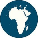 Africa,Symbol,Map,Blue,White,Computer Icon,Circle,Vector