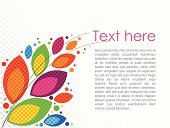 Halftone Pattern,Greeting,Creativity,Flower,Multi Colored,Backgrounds,Pattern,Design,Design Element,Text,Nature,Ilustration,Vector,Invitation,Floral Pattern,Copy Space,Color Image,Art