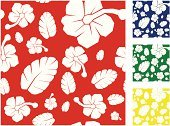 Surf,Pattern,Repetition,Green Color,Flower,Leaf,Sports And Fitness,Yellow,Floral Pattern,Red,Blue