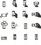 Symbol,Computer Icon,Mobile Phone,Icon Set,Application Software,Gesturing,Photographing,Telephone,Video,Human Hand,Smart Phone,Human Finger,Camera - Photographic Equipment,Touch Screen,Television Camera,Touching,Ilustration,Headphones,Communication,Turning,Video Conference,Social Networking,Movie,Technology,Wireless Technology,On The Phone,Interface Icons,Internet,Vector,Silhouette,Satellite,Black Color,Direction,Cloud - Sky,Cloud Computing,Design Element,Human Face,Dictaphone,Sharing,Microphone,Map,Black And White,Arrow Symbol,Streaming Media Service,Simplicity,Pinching,Media Player