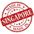 Singapore,Clip Art,Red,Star Shape,Rubber Stamp,Color Image,Ilustration