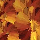 Yellow,Pattern,Flower,Backgrounds,Abstract,Illustration,Floral Pattern,No People,Vector