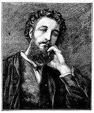 Retro Revival,Old-fashioned,Obsolete,Engraved Image,Men,Portrait,Fine Art Portrait,Painter,Young Men,Painted Image,Sketch,Antique,19th Century Style,Beard,Book,Frederic Leighton,Cultures,Classical Style,Thinking,History,Print,Pencil Drawing,Ilustration,Isolated,Engraving,Art,Drawing - Art Product,Black And White,Old,Victorian Style,Isolated On White