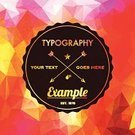 Hipster,Backgrounds,Pattern,Copy Space,Textured,Ilustration,Funky,polygonal,Banner,Geometric Shape,Vector,Youth Culture,Text,Modern,Facet,Triangle,Color Image,Abstract,Crumpled,Typescript
