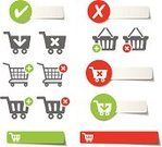 Shopping Cart,Symbol,Inserting,Removing,Computer Icon,Basket,Check Mark,Vector,Checkbox,Banner,Customer,Minus Sign,Sale,Consumerism,Design,template,Single Object,E-Mail,Sign,Retail,Direction,Selling,Shopping Bag,Internet,Design Element,e-shop,Ilustration,Store,Business,Plus Sign,Delete Key,Shopping,Buying,Green Color,Label