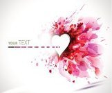 Pink Color,Blob,Abstract,Holiday,Heart Shape,Valentine's Day - Holiday