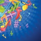 Musical Note,Banner,Abstract,Poster,Art,Sound,Vector,Music Background,Symbol,Design Professional,Music,Ilustration,Computer Graphic,Composition,Decoration,crotchets,Disco,Modern,Concepts,Treble Clef,Backgrounds,Performance,Disco Dancing