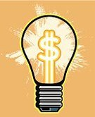 Clip Art,Business,Shiny,Light Bulb,Glowing