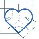 Human Heart,Heart Shape,Blueprint,Engineering,Technology,Draughting,Analyzing,Design,Isolated,Sign,Digitally Generated Image,Using Senses,Wedding,Vector,Blue,Healthcare And Medicine,Research,Love,Romance,Valentine's Day - Holiday,Ideas,Single Line,Color Gradient,Development,Drawing - Art Product,Arrow,Drafting,Symbol,Emotion,Human Internal Organ,Isolated On White,Computer Icon,Togetherness,Beginnings,Passion,Planning,Scale,Hatching,Plan,Concepts