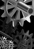 Gear,Spindle,Machine Part,Clockworks,Objects/Equipment,Illustrations And Vector Art,Tic Toc,Wheel