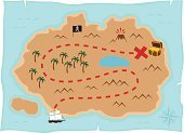 Treasure Map,Footpath,Treasure Chest,Map,Cartography,Dirt Road,Island,Pirate,Treasure,Tropical Climate,Gold,Exploration,Direction,Compass,conquest,Adventure,Tall Ship,Pirate Flag,Ship,Sailing Ship,Christopher Columbus - Explorer,Pursuit - Concept,Discovery