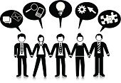 Speech Bubble,Stick Figure,Teamwork,Holding Hands,People,Cooperation,Connect the Dots,Simplicity,Ilustration,Team,Businesswoman,Vector,Information Symbol,Large Group Of People,Businessman,Design Element,Searching,Telephone,Ideas,Connection,Solution,Gear,Communication,Concepts,Business,Symbol,Strategy,E-Mail,Business Relationship,Organized Group,Diagram,Community