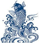 Wave,Cartoon,Koi Carp,Pattern,Kimono,Ilustration,Carp,Jumping,Oriental Style Woodblock Art,Water,Japanese Culture,Nature,Flowing Water,Spray,Tattoo,Old-fashioned,Painted Image,Line Art,East Asian Culture,Splashing,Uncultivated,Yukata,Flowing,Stipe,Strength,Paintings,Waterfall,Japan,Mustache,Animal Scale,Living Organism,Fish,Freshwater Fish,Design,Cultures,Swirl,Animals In The Wild,Bouncing,Swimming Animal,Elegance,Vitality,Animal