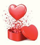 Balloon,Valentine Card,Heart Shape,Opening,Box - Container,Exploding,Happiness,Touching,Flying,Romance,Pink Color,Gift,Decoration,Day,Greeting,Exploration,Love,Celebration,Emotion,Red,Light - Natural Phenomenon,Wedding,February,Surprise,Flowing,Confetti,Abstract,Single Object,Vector,Greeting Card