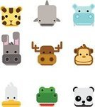 Animal,Panda,Monkey,Symbol,Duck,Alligator,Tiger,Computer Icon,Tropical Rainforest,Vector,Moose,Emoticon,Religious Icon,Hippopotamus,Cute,Bear,Donkey,Animal Head,Shark,Domestic Cat,Fish,Set,Humor,Square Shape,Farm,Deer,Whale,Square,Chimpanzee,Ape,Toy Shark,Undomesticated Cat,Water,Circle,Animals In The Wild,Smiling,Cattle,Fun,Clip Art,Smiley Face,Reptile,Block,Curve,Illustrations And Vector Art