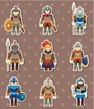 Knight,Shield,Cavalier - Cavalry,Aggression,Sword,kingdom,Riot Shield,Cartoon,Heroes,History,Characters,Style,Set,Winning,Feather,Work Helmet,Victory,Ilustration,Symbol,Shielding,Collection,Medieval,War,Success,Armed Forces,Single Object,Horse,Military,Suit of Armor,Doodle,Label,Bodyguard,Cute,Vector,Body Armor,Sports Helmet,Clip Art,Protective Workwear,Group Of People,Flag,Nobility,Weapon,Honor Guard,Isolated,Protection,Majestic,Colors,Drawing - Activity,General,Warrior,Helmet - Band,Pike - Weapon,Security Guard