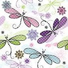 Multi Colored,Single Flower,Transparent,Pattern,Dragonfly,Pink Color,Green Pea,Repetition,Wrapping Paper,Backgrounds,Purple,Variation,Silver Colored,Green Color,Translucent,Effortless,White,Spotted,Springtime,Old-fashioned,Eps10,Wallpaper Pattern,Vector,Polka Dot,Fashion,Vibrant Color,Gray,Textile,Floral Pattern,Ilustration,Trendy Background,Wallpaper,Scrapbook,Ornate,Abstract,Textured Effect
