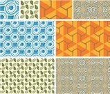 Seamless,Pattern,Backgrounds,Leaf,seamless pattern,Blue,Christmas Decoration,Orange Color,Decoration,Brown