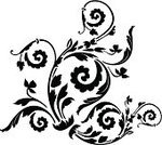 Elegance,Pattern,Decoration,Abstract,Swirl,Floral Pattern,Ilustration,Vector