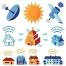 Radar,House,Radio Wave,Wireless Technology,Residential Structure,Communication,Sound Wave,Wave Pattern,Building Exterior,Space,Technology,Business,Symbol,Vector,Broadcasting,Computer Icon,Icon Set,Internet,Circle,Connection,Insignia,Emitting,Ilustration,Message,Information Medium,Data,Order,Concepts And Ideas,Illustrations And Vector Art,Global Communications,Square,Communication,Square Shape,Large Group of Objects