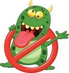 Virus,Computer Bug,Cartoon,Vector,Computer,Illness,Humor,Unhygienic,Microbiology,Monster,Alertness,Toxic Substance,Danger,Vaccination,Mascot,Ilustration,Warning Sign,Dirty,Characters,infected,Symbol,Green Color,Bacterium,Red