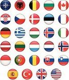 Flag,Collection,National Flag,Symbol,Computer Icon,Icon Set,Hungary,Germany,USA,Slovenia,Vector,NATO Flag,Greece,Netherlands,Push Button,Spain,France,Italy,Luxembourg - Benelux,Denmark,UK,Turkey - Middle East,Agreement,Set,Iceland,Canada,England,Norway,Belgium,Slovakia,Interface Icons,Bulgaria,Latvia,Czech Republic,Romania,Poland,Estonia