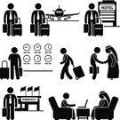 Stick Figure,Business Travel,People Traveling,Travel,Exoticism,Computer Icon,Embassy,Airport,People,Men,Symbol,Cartoon,Handshake,Tourist,Global Communications,Middle Eastern Ethnicity,Businessman,Luggage,Silhouette,Sign,Journey,Vector,Success,Visit,Clock,Hotel,Planning,Business,The Human Body,Black Color,Station,Country - Geographic Area,Shaking,Concepts,Stick - Plant Part,One Person,Meeting,Agreement,Airplane,Human Hand,Discussion
