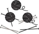 Ball Of Wool,Knitting,Knitting Needle,Wool,Art And Craft,Sphere,Symbol,Sewing Needle,Computer Icon,Design Element,Textile,Solid,Circle,Cute,Set,Knitting Yarn,Needlecraft Product,White,Blank,drop shadow,Design,Craft,Gray,Grayscale,Business,Black Color