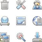 Network Server,Religious Icon,Computer,Garbage Can,Symbol,Repairing,Computer Icon,Garbage,Service,Icon Set,Customer Service Representative,browser,Internet,Computer Network,Work Tool,Data,Communication,Web Page,Blue,Set,Globe - Man Made Object,Magic Wand,Global Communications,Gray,Interface Icons,Business,Downloading,Screwdriver,Adulation,Assistance,Concepts And Ideas,Illustrations And Vector Art,Sphere,Communication,web icon