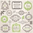 Vector,Paper,Document,Old,Label,Floral Pattern,Flower,Textured Effect,Wedding,Holiday,Picture Frame,Retro Revival,Candid,filigree,Tag,Style,Certificate,Postage Stamp,Ornate,Collection,Greeting Card,Set,Satisfaction,Banner,Greeting,typographic,Calligraphy,Decoration,Pattern,Design,Old-fashioned,Page,Vignette,Typescript,Swirl,Ilustration,Design Element,Blue,Frame,Flourish,Quality Control,Classic,Typing,premium,Victorian Style,warranty,Invitation