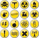 Biochemical Weapon,Radioactive Warning Symbol,Bomb,Symbol,Radiation,Explosive,Toxic Substance,Micro Organism,Ilustration,Industry,flammable,Warning Sign,Natural Disaster,Hydrogen Bomb,Vector,Warning Symbol,Environment,Factory,Sign,Pollution,Shiny,Material,Nuclear Power Station,DNA,Danger,Yellow,Biohazard Symbol