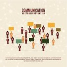 Video,Pattern,Teamwork,Communication,Talking,Arrow Symbol,Happiness,Camera - Photographic Equipment,Multi Colored,Design,Set,Symbol,Human Face,Colors,Color Image,Collection,People,Red,Laptop,Icon Set,Global,Retro Revival,Vector,Ilustration,Marketing,Group Of People,Businessman,OK Sign