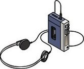 Radio,Obsolete,Personal Stereo,Old-fashioned,Three Dimensional,Antique,Headset,Playing,Listening,Mobility,audiotape,Classic,Headphones,Equipment,Technology,Individuality,Electronics Industry,Entertainment,Magnet,Isometric,Recorder,Electricity,Audio Equipment,Audio Cassette,Record,Electrical Equipment,Music
