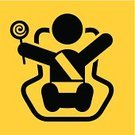Belt,Baby,Safety,Symbol,Human Age,Candy,Car,Vehicle Seat,Care,Chair,Traffic,Ilustration,Vector,Security System,Fragile,Protection,Child,Fragility