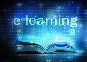 elearning,Learning,Letter E,Training Class,Technology,Library,Internet,Digital Display,Book,Business,Computer,Laptop,E-reader,Coding,Concepts,Ideas,e-learning,Communication,Studying,Backgrounds,Modern,Data,Text,Electronics Industry,Futuristic,PC,Binary Code,Single Word,Creativity,Computer Monitor,Blue,Colors,Ilustration,Information Medium,Education