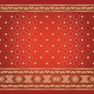 Sari,India,Pattern,Textile,Backgrounds,Silk,Frame,Henna Tattoo,Indian Culture,Diwali,Indigenous Culture,Asia,Vector,Brocade,Ilustration,Wave Pattern,Cultures,Print,Floral Pattern,Symmetry,Symbol,Tattoo,Hinduism,Gold Colored