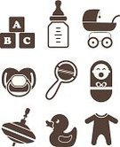 Symbol,Bib Overalls,Baby,Group of Objects,Baby Bottle,Crying,Milk Bottle,Ilustration,Little Boys,Clothing,Vector,Abstract,Collection,Childhood,Toy,Set,Silhouette,Human Face,Entertainment,Romper Suit,Shape,Sign,Computer Graphic,Growth,Newborn,Child,Design Element,Cute,Cube Shape,Small,Equipment,Personal Accessory,Duck,Back Lit,Education,Isolated