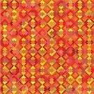 Ilustration,Geometric Shape,Abstract,Vector,Funky,Vibrant Color,Retro Revival,Mosaic,Backgrounds,Design,Style,Seamless,Decoration,Pattern,Old-fashioned,Modern,Wallpaper Pattern