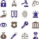Vector,Gavel,Computer Icon,Symbol,Security Camera,Flashlight,Handcuffs,Human Hand,Bank,Stealing,Thief,Legal System,Retinal Scan,Pattern,Concepts,Locking,Retina,Entertainment Center,Justice - Entertainment Group,Interface Icons,Security System,Human Eye,Star Shape,Protection,Money Bag,Crime,Lock,Car,Design Professional,Camera - Photographic Equipment,Ilustration,Police Force,Justice - Concept,Safe,Padlock,Police Badge,Safety,Police Car,Fingerprint,Bodyguard,Siren,Prisoner,Law,Weight Scale,Security Staff,White,Protective Workwear,Icon Set,Ideas,Security